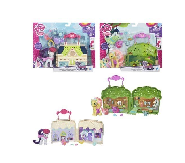 Hasbro My Little Pony Explore Equestria Playsets Wave 1 Set