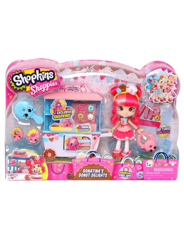 Shopkins Shoppies Season 2 Donatina's Donut Delights
