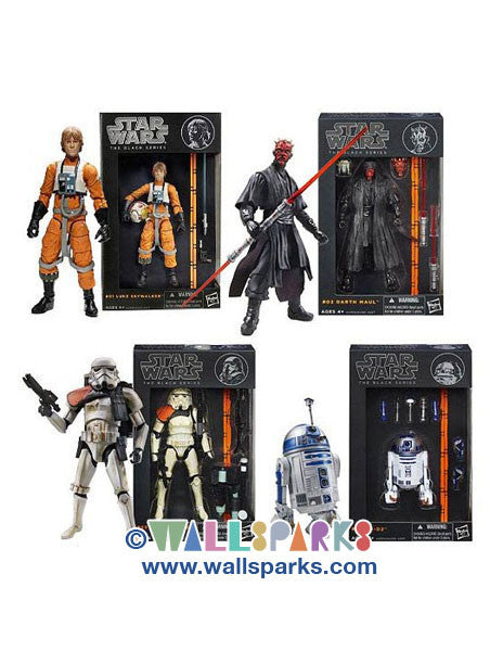 Star Wars Black Series 6-Inch Action Figures Wave 1 Case - 2013 Official