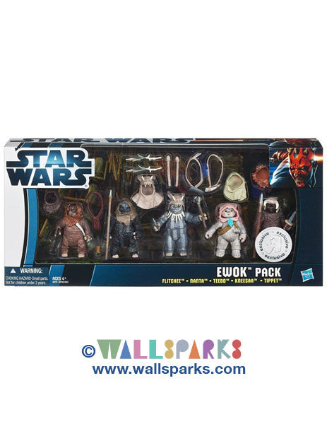 Star Wars Ewok Pack Exclusive