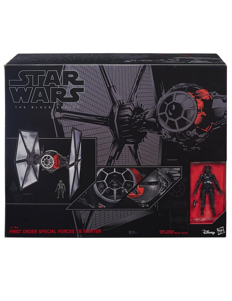 Star Wars Episode VII The Force Awakens Black Series Deluxe First Order Special Forces Tie Fighter Large Version Hasbro