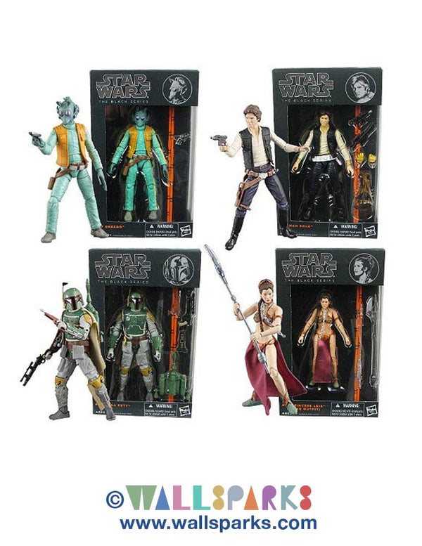 Star Wars Black Series 6-Inch Action Figures Wave 2 Case - 2013 Official