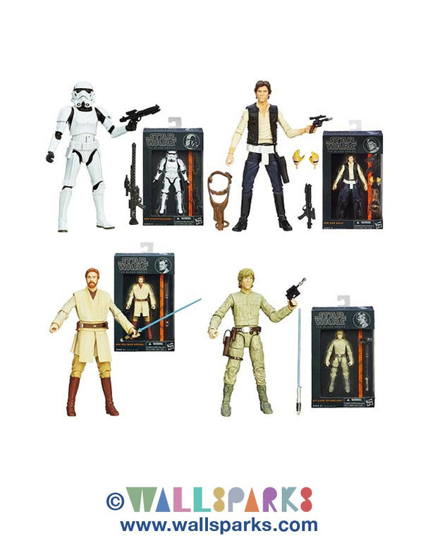 Star Wars Black Series 6-Inch Action Figures Wave 3 Case - 2014 Official