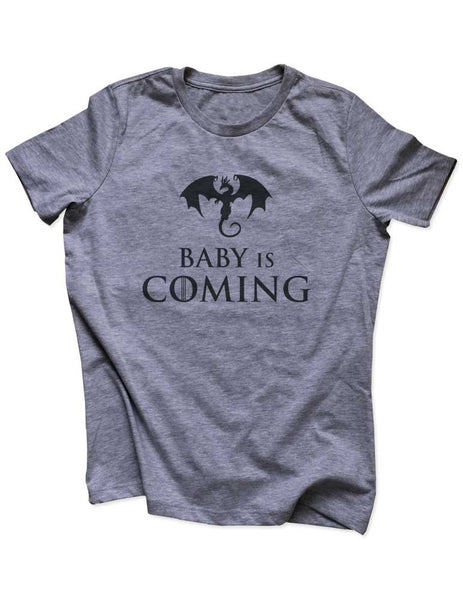 45cad917 Baby Is Coming - Funny GOT Game of Thrones Parody pregnancy announceme –  wallsparks