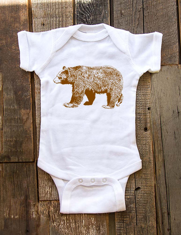Bear - Baby One piece bodysuit, Infant, Toddler, Youth Shirt