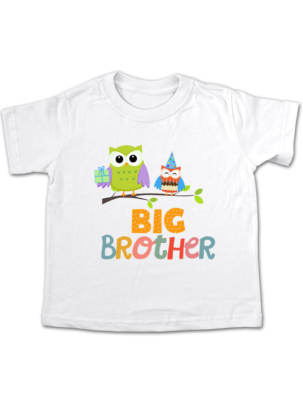 Big Brother Owls Design 1 Toddler Tee Shirt