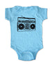 Boombox vintage retro music radio graphic - Baby One-Piece Bodysuit, Infant, Toddler, Youth Shirt