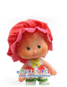 Vintage Strawberry Shortcake Friend Cherry Cuddler Doll Figure 1980s toy