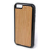 Cherry Wood iPhone Case Carved Engraved design on Real Natural Wood - For iPhone X, 7/8, 6/6s, 6/6s Plus, SE, 5/5s, 5C, 4/4s