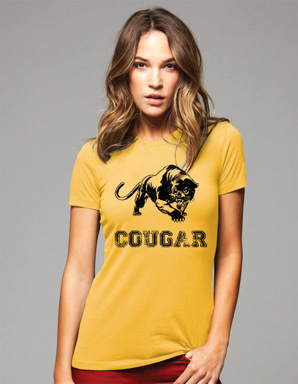 Cougar Animal Team Shirt - Women & Men Shirt