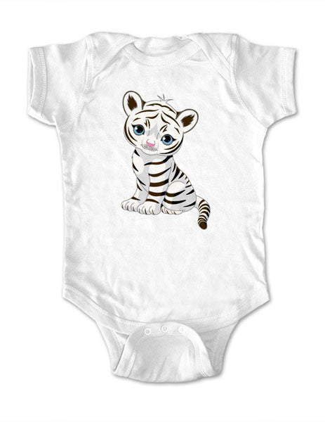 Cute Tiger design 1 - Baby One-Piece Bodysuit, Infant, Toddler, Youth Shirt