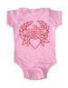 Daddy's Girl Tattoo Heart - Baby One-Piece Bodysuit, Infant, Toddler, Youth Shirt