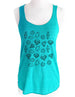 Diamond Design 1 - Soft Tri-Blend Racerback Tank