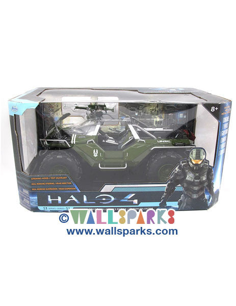 "HALO 4 Combat Edition: 14"" UNSC Warthog Vehicle Collector's Edition"