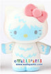 "HELLO KITTY Sanrio Collectable Mini Figure Yeti Flock Covered 3"" Figure"