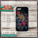 Galaxy Bird Cases - Design Cover 01 - Choose from iPhone 4/4S, 5/5S, 5C, Samsung Galaxy S3 or S4 Case