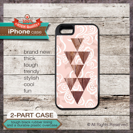 Geometric design Cases - Design Cover 01 - Choose from iPhone 4/4S, 5/5S, 5C, Samsung Galaxy S3 or S4 Case