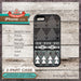 Geometric shapes on wood texture - Design Cover 26 - Choose from iPhone 4/4S, 5/5S, 5C, Samsung Galaxy S3 or S4 Case