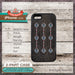 Tribal Geometric style - Design Cover 44 - Choose from iPhone 4/4S, 5/5S, 5C, Samsung Galaxy S3 or S4 Case
