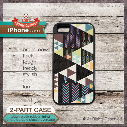 Geometric Art - Design Cover 46 - Choose from iPhone 4/4S, 5/5S, 5C, Samsung Galaxy S3 or S4 Case