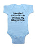 i googled the word cute and saw my baby pictures - Baby One-Piece Bodysuit, Infant, Toddler, Youth Shirt