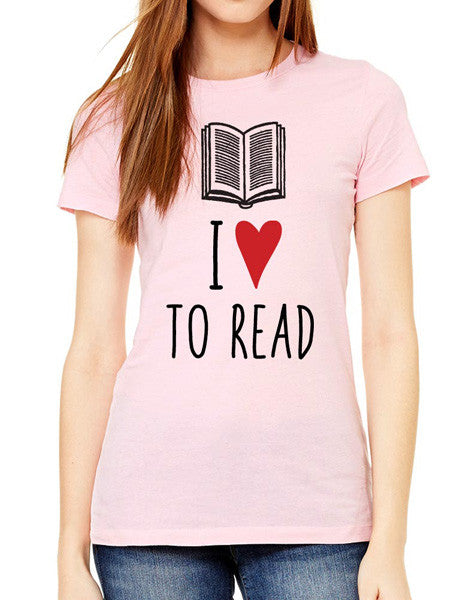 I Love To Read - design2 Modern Design - Women & Unisex/Men Shirt