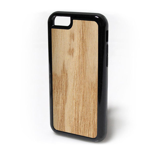 Sassafras Wood iPhone Case Carved Engraved design on Real Natural Wood - For iPhone X, 7/8, 6/6s, 6/6s Plus, SE, 5/5s, 5C, 4/4s