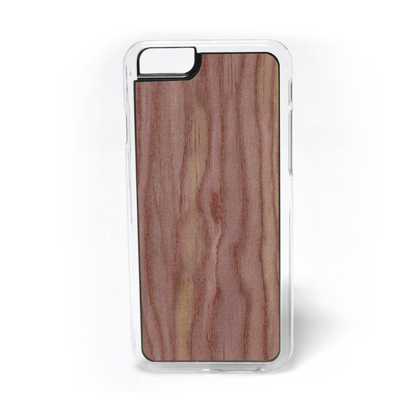 Eastern Red Cedar Wood iPhone Case Carved Engraved design on Real Natural Wood - For iPhone X, 7/8, 6/6s, 6/6s Plus, SE, 5/5s, 5C, 4/4s
