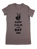 Keep Calm and Bat On - Women & Men Shirt