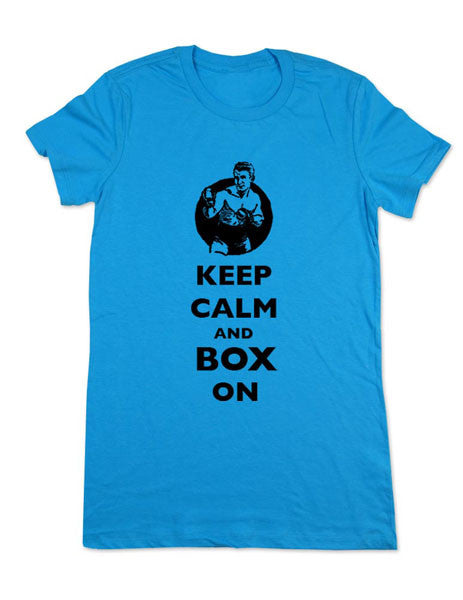 Keep Calm and Box On - Women & Men Shirt