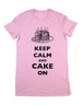 Keep Calm And Cake On - Women & Men Shirt
