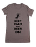 Keep Calm And Deer On - Women & Men Shirt