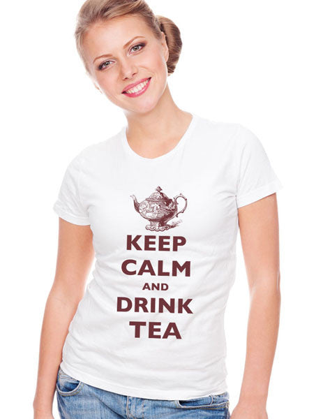 Keep Calm And Drink Tea - Women & Men Shirt