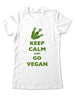 Keep Calm And Go Vegan - Women & Men Shirt