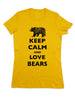 Keep Calm And Love Bears - Women & Men Shirt