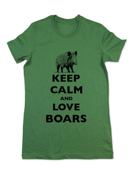 Keep Calm And Love Boars - Women & Men Shirt