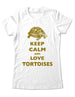 Keep Calm And Love Tortoises - Women & Men Shirt