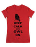 Keep Calm And Owl On - Women & Men Shirt