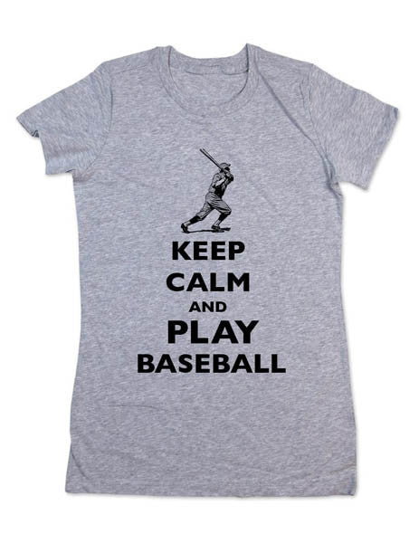Keep Calm And Play Baseball - Women & Men Shirt