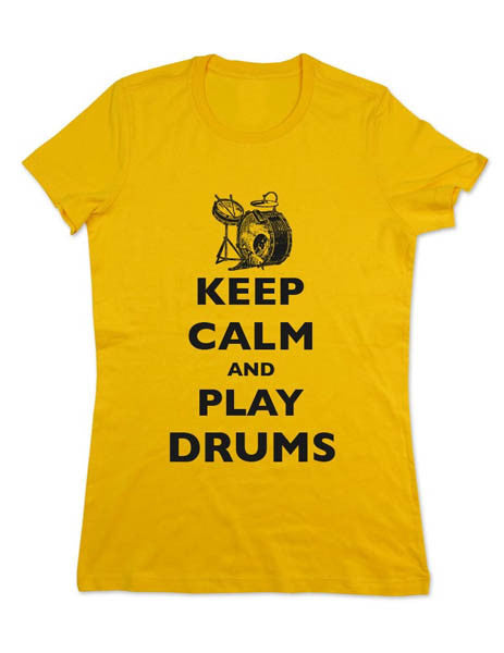 Keep Calm And Play Drums - Women & Men Shirt