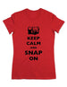 Keep Calm And Snap On (Camera) - Women & Men Shirt