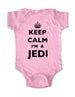 Keep Calm I'm A Jedi - Baby One-Piece Bodysuit, Infant, Toddler, Youth Shirt