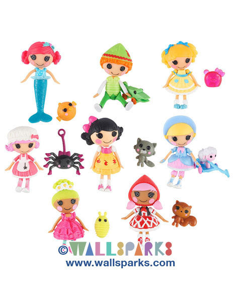 Mini Lalaloopsy Tales 3 inch Mini-Dolls 8-Pack