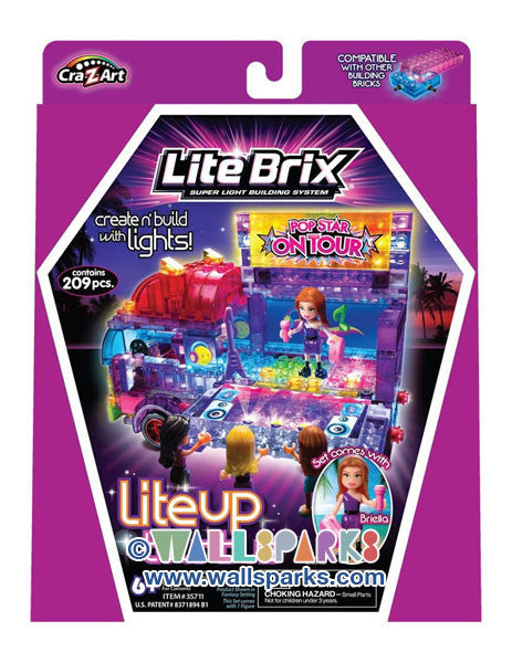 Lite Brix Girls Tour Bus - Pop Star On Tour