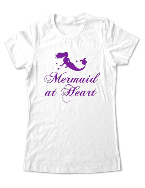 Mermaid at Heart - Women & Men Shirt