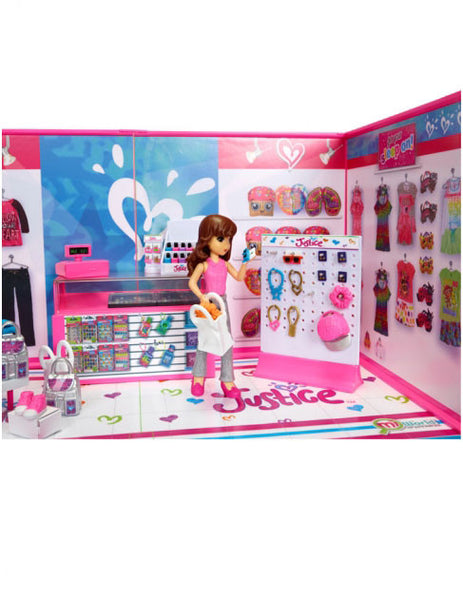 Teenage Toys For Christmas : Miworld deluxe justice clothing store environment set