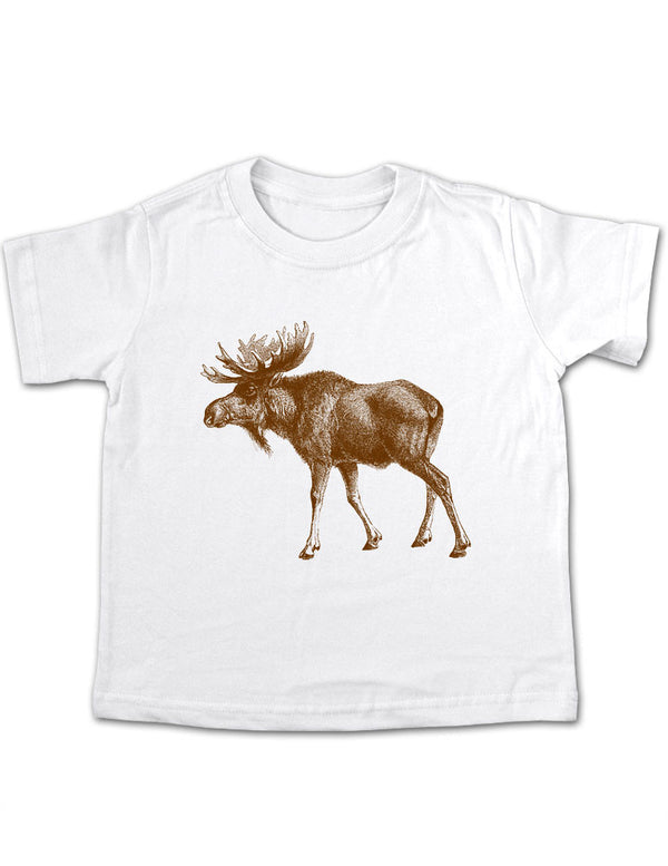 Moose Design 2 Toddler Tee Shirt