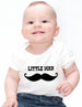 Mustache Little Man - Baby One-Piece Bodysuit, Infant, Toddler, Youth Shirt