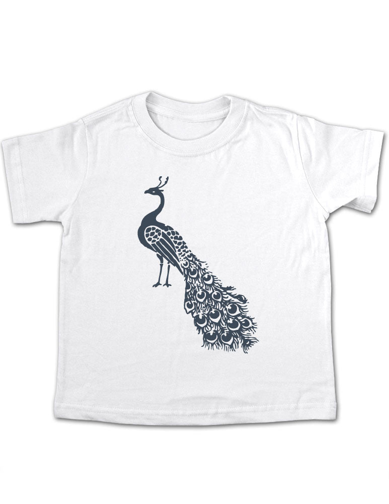 Peacock Design 10 Toddler Tee Shirt