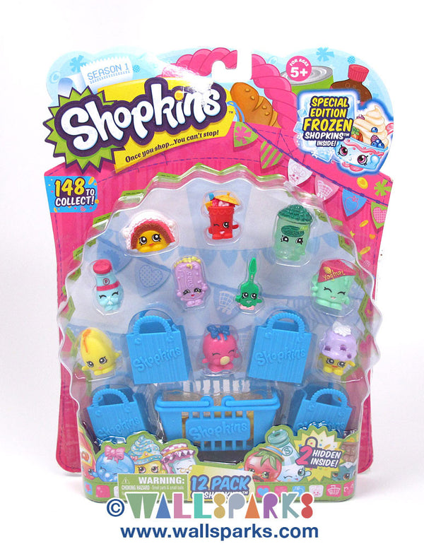Shopkins 12 Pack - Pack01